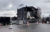 Trwa montaż sceny sylwestra w Gdyni