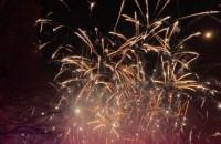 Zakończenie pokazu fajerwerków w Gdyni