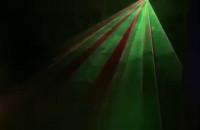 Światła laserowe w Gramofonie Grabówek
