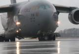Start C-17 Globemaster z gdańskiego lotniska