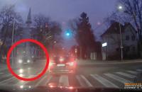 Potrącenie rowerzystki na skrzyżowaniu Polanki i Abrahama