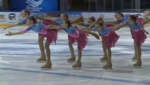 """Blisko tysiąc łyżwiarzy synchronicznych w hali """"Olivia"""""""
