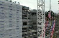 Nad nowym budynkiem UCK zawisła wiecha