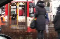 Wykoleił się tramwaj na Kartuskiej w Gdańsku
