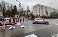 Ruch wahadłowy na skrzyżowaniu Legionów i Piłsudskiego w Gdyni