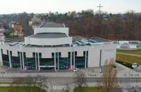 Teatr Muzyczny i jego okolice z lotu ptaka