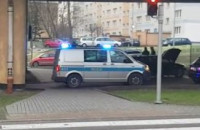 Wypadek pod estakadą Kwiatkowskiego