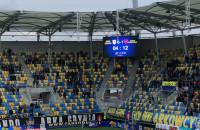 Kibice Arki w wulgarny sposób mobilizują piłkarzy do gry