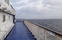 Potężny sztorm na Bałtyku 23 Luty 2020