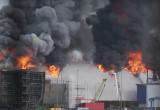 Pożar elewatora zbożowego w gdyńskim Porcie