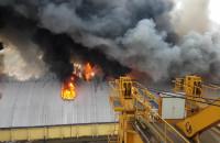 Pożar Port Gdynia