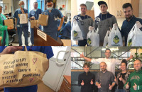 Restauratorzy pomagają szpitalom