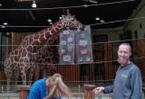 Nowa zabawka dla żyraf w gdańskiego zoo