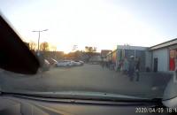 Mega kolejka do Lidla na Chylońskiej w Gdyni