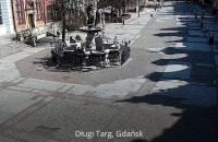 Pustki na ulicach Trójmiasta - zdjęcia monitoringu miejskiego