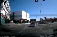 Otarcie dwóch aut przy Forum Gdańsk