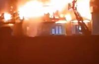 Pożar na terenie Gedanii we Wrzeszczu - kompilacja filmów czytelników