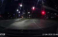 Jazda na czerwonym świetle