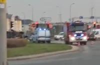 Wypadek na skrzyżowaniu Havla i Łostowickiej
