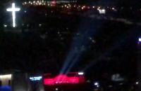 Gdynia 1 Maja 2020 #LightTheSky