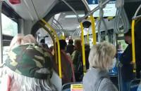 Taka sytulacja w autobusie linii R
