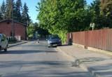 Parkowanie tuż przed przejściem dla pieszych
