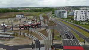 Tramwaj na nowej trasie w Gdańsku