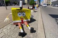 Dzieci ubierały słupki w Gdyni