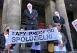 Protest mieszkańców SM Ujeścisko pod ...