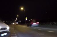 Blisko wypadku, bo rower za słabo oświetlony?