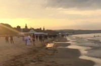 Chill na plaży - pogoda służy