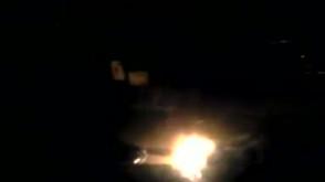 Płonące auto w Brzeźnie, 16.09.11