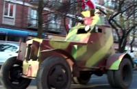 Cztery koła na Paradzie Niepodległości