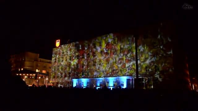 Tak wyglądała iluminacja świąteczna wGdyni wubiegłym roku.