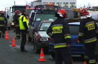 Wypadek na ul.Elbląskiej