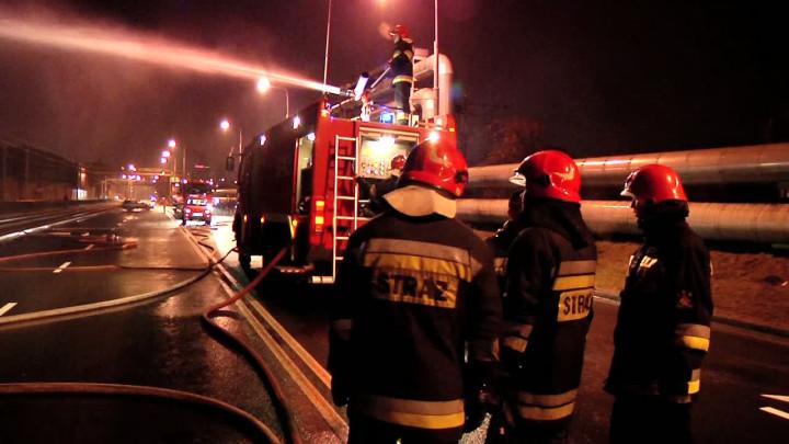 Film nakręcony podczas akcji ratowniczej.