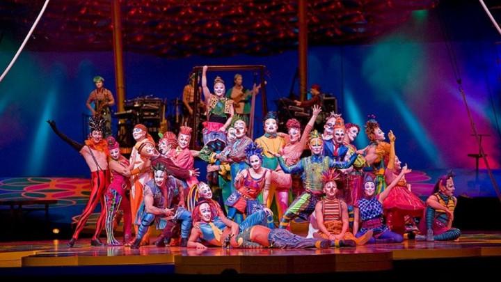 Tak bawił nas Cirque de Soleil w2011 roku.
