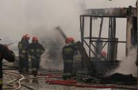 Pożar przy ulicy Św. Wojciecha