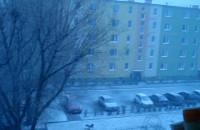Burza śnieżna w kwietniu!