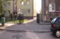 Lustro na uliczce we Wrzeszczu
