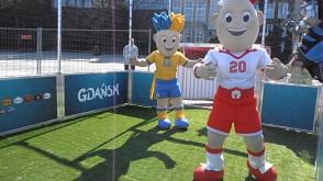 """Gdańsk, 26-04-2012 """"mecz"""" Polska -Ukraina"""