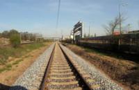 Pierwszy przejazd koleją do PGE Areny