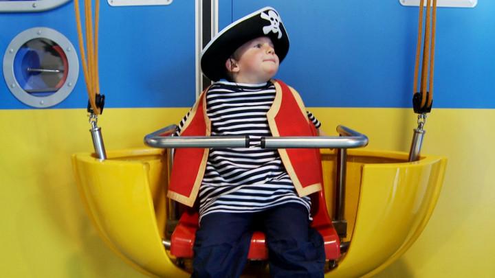 Nie tylko dzieci były zachwycone nowo otwartym Ośrodkiem Kultury Morskiej.