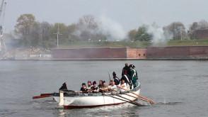 Bitwa Morska - Obrona Twierdzy Wisłoujście 2012