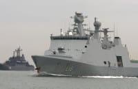 Okręty wpłynęły do Gdyni