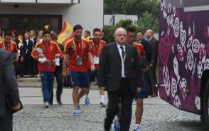 Hiszpańscy piłkarze jadą na mecz z Irlandią