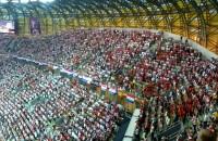 Hymn Chorwacji odśpiewany na stadionie