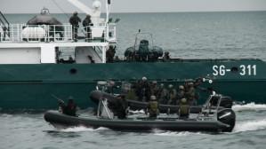 Komandosi GROM-u ćwiczyli na Bałtyku
