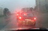 Nowa Słowackiego po opadach deszczu