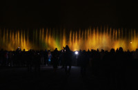 Tańczące fontanny przy PGE Arenie